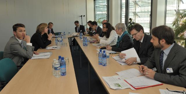 Visit of the Prince of Wales's Corporate Leaders Group on Climate Change (CLG) to the EC