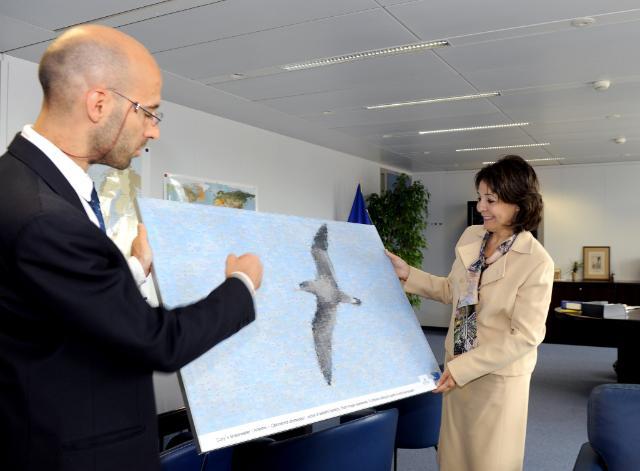 Visit of a delegation of the NGO BirdLife International, to the EC