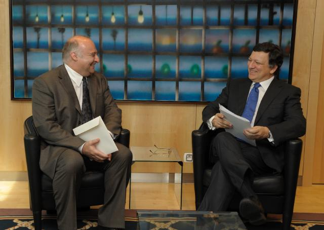 Presentation of the credentials of the Heads of Mission to the EU to José Manuel Barroso, President of the EC