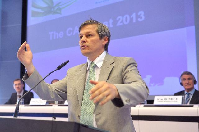 Participation of Dacian Cioloş, Member of the EC, to the conference CAP post 2013