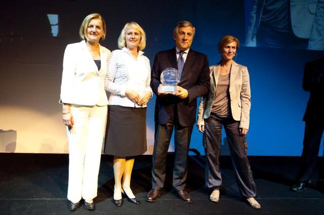 Participation d'Antonio Tajani, vice-président de la CE, à la cérémonie de remise des prix Destination européenne d'excellence (EDEN)