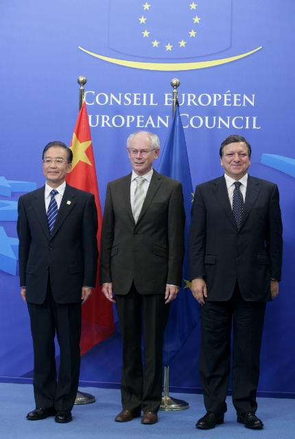Participation of José Manuel Barroso, President of the EC, at the EU/China Summit