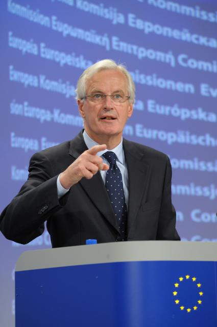 Press conference by Michel Barnier, Member of the EC, on the cross-border crisis management in the banking sector