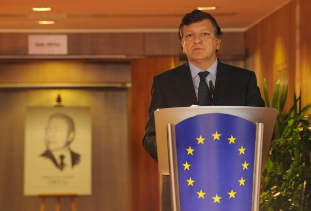 Inauguration by José Manuel Barroso, President of the EC, of the Ortoli Room