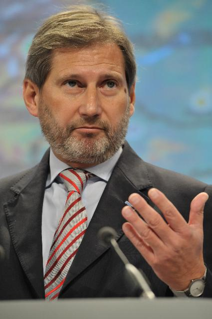 Press conference by Johannes Hahn, Member of the EC, on the Danube Strategy