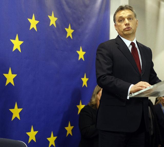 Inauguration de la nouvelle Maison de l'Union européenne, à Budapest