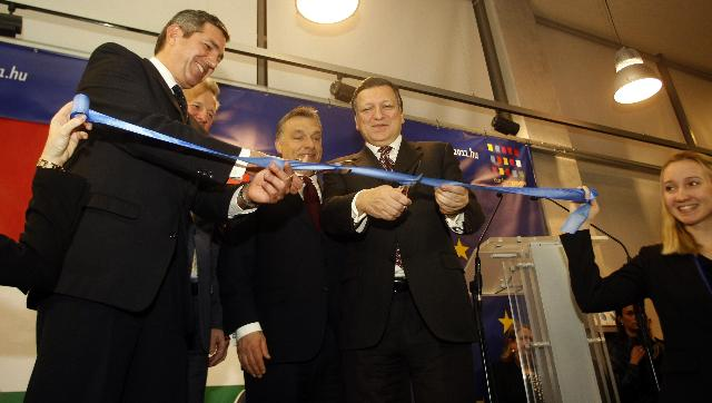Inauguration of the New House of the European Union, in Budapest