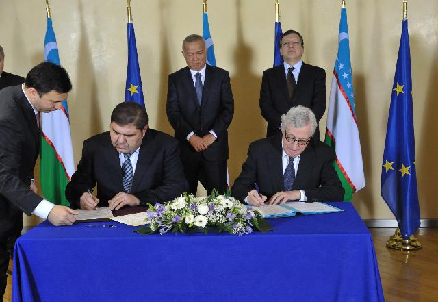 Visit of Islam Karimov, President of Uzbekistan, to the EC