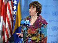 Visit of Catherine Ashton, Vice-President of the EC, to New York
