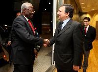 Visit of Ernest Bai Koroma, President of Sierra Leone, to the EC