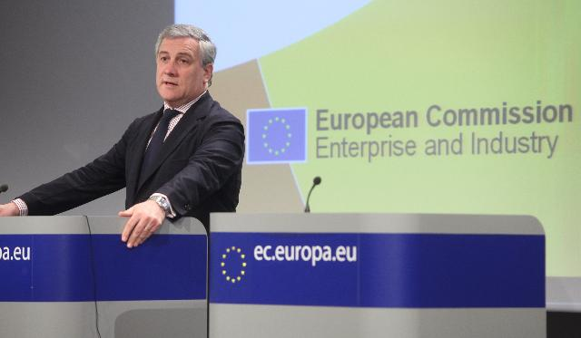 Press conference by Antonio Tajani, Vice-President of the EC, on the review of the Small Business Act