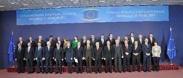 Brussels Extraordinary European Council, 11/03/2011