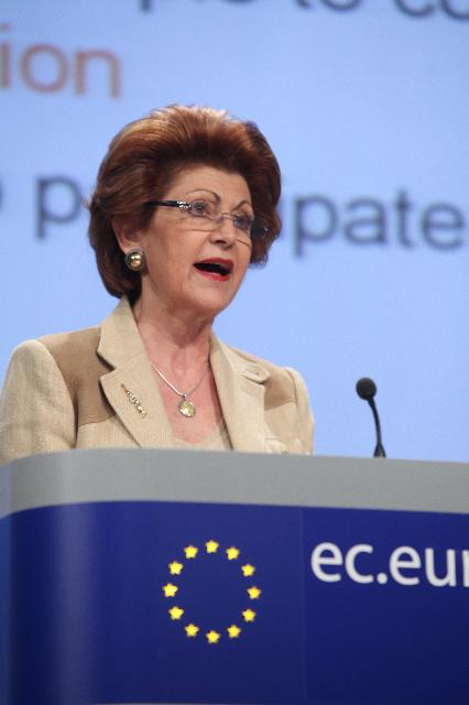 Press conference by Androulla Vassiliou, Member of the EC, on the EU education report
