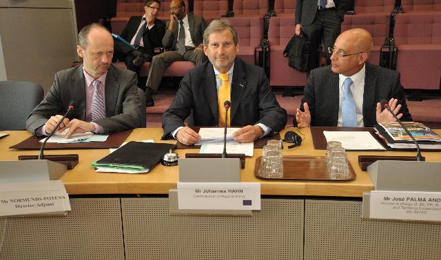 Visite des présidents des régions ultrapériphériques à la CE