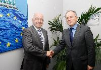 Visit of Panos Beglitis, Greek Minister for National Defence, to the EC