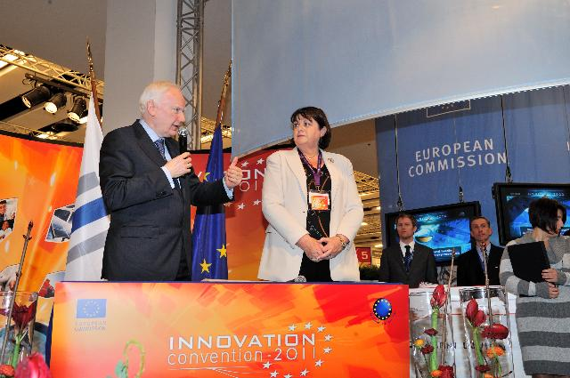 Participation of José Manuel Barroso, Antonio Tajani and Máire Geoghegan-Quinn in the Innovation Convention 2011