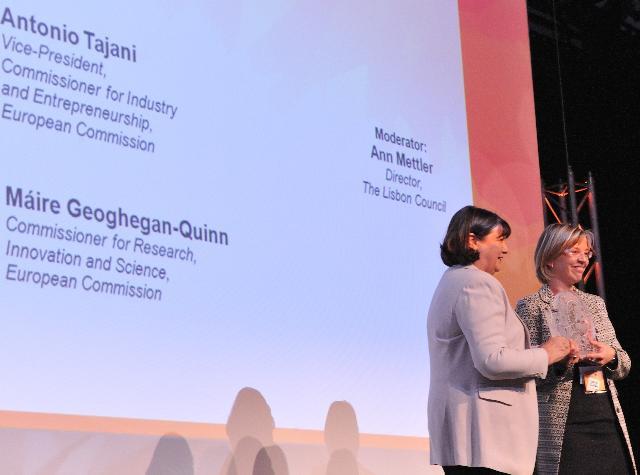 Participation of José Manuel Barroso, Antonio Tajani and Máire Geoghegan-Quinn in the Innovation Convention 2011