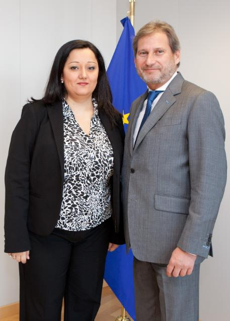 Visit of Lilyana Pavlova, Bulgarian Minister for Regional Development and Public Works, to the EC