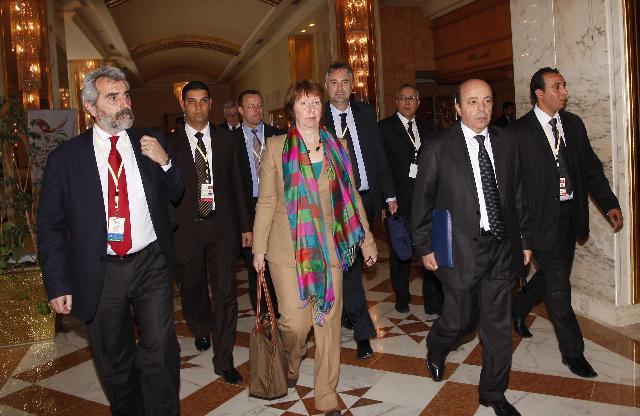 Visit of Catherine Ashton, Vice-President of the EC, to Tunisia