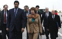 Visit of Catherine Ashton, Vice-President of the EC, to Tunisia