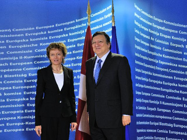 Visit of Eveline Widmer-Schlumpf, President of the Swiss Confederation, to the EC