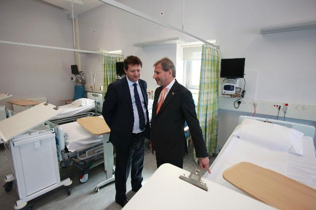 Visit of Johannes Hahn, Member of the EC, to Wales