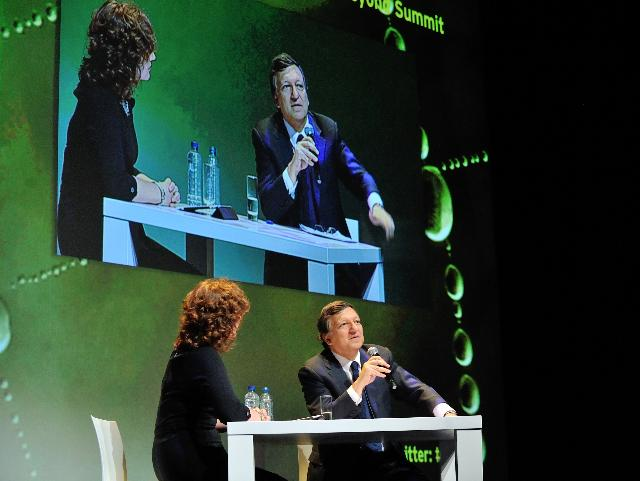 Participation of José Manuel Barroso, President of the EC, in the Simply innovation: EU Government and Innovation conference