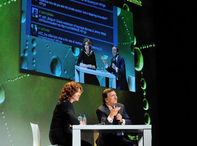 Participation de José Manuel Barroso, président de la CE, à la conférence Seulement l'innovation: le gouvernement de l'UE et l'Innovation