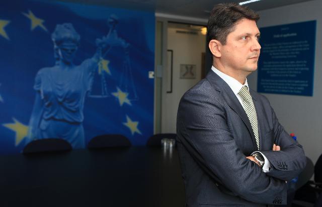 Visite de Titus Corlăţean, ministre roumain de la Justice, à la CE