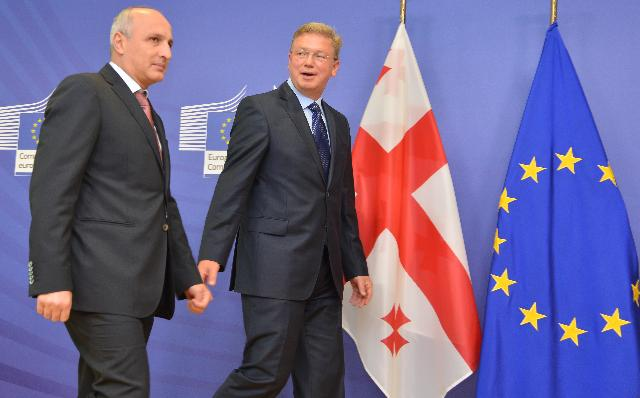 Visit of Ivane Merabishvili, Georgian Prime Minister, to the EC