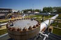 The pumping station of Bucany in Slovakia (Druzhba pipeline system)