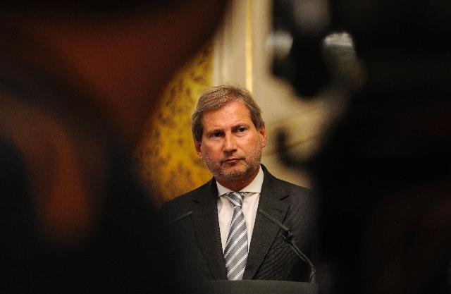 Visit of Johannes Hahn, Member of the EC, to Slovakia