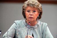 Dialogue avec les citoyens à Berlin avec Viviane Reding