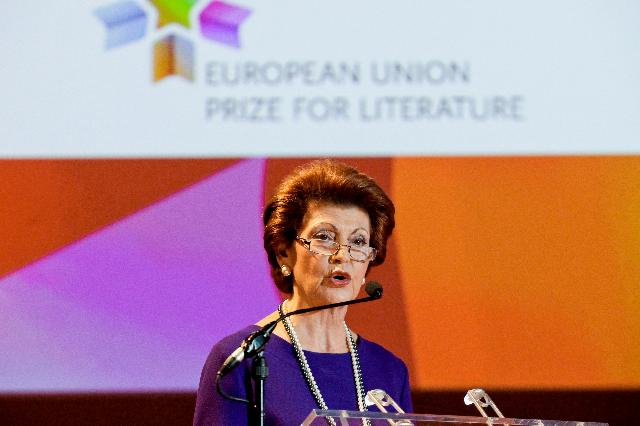 Award ceremony of the EU Prize for Literature 2012