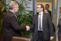Visit of Espen Barth Eide, Norwegian Minister for Foreign Affairs, to the EC