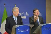 Visit of Mario Monti, Italian Prime Minister and Minister for Economy and Finance, to the EC