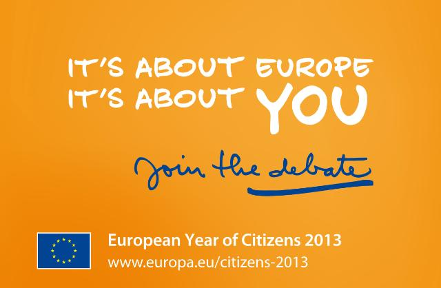 Visual of the European Year of Citizens 2013 © EU