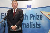 Awards ceremony of the 2012 EU Health Prize for Journalists