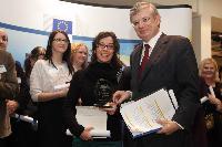 Cérémonie de remise du Prix européen du journalisme 2012 dans le domaine de la santé