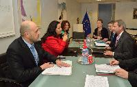 Visit of Lilyana Pavlova, Bulgarian Minister for Regional Development and Public Works, and Tomislav Donchev, Bulgarian Minister without portfolio in charge of the European Funds, to the EC
