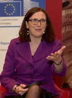 Citizens' Dialogue in Turin with Cecilia Malmström