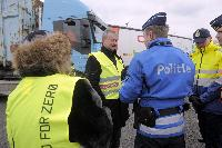 Participation of Siim Kallas, Vice-President of the EC, at the TISPOL cross-border police operation on the roads, in Rekkem