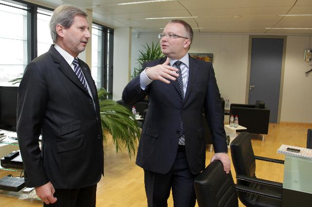Visit of Tomáš Chalupa, Czech Minister for the Environment, to the EC