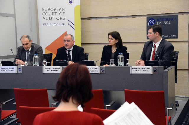 Press conference by Lazaros S. Lazarou, Member of the European Court of Auditors, on the special report entitled Are tools in place to monitor the effectiveness of the ESF spending on older workers?