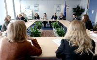Visit to the EC of the representatives of several NGOs active in the field of fisheries and environmental protection