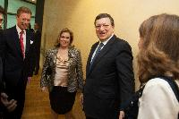Visit of Henri, Grand Duke of Luxembourg, and Maria Teresa, Grand Duchess of Luxembourg, to the EC