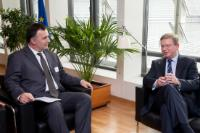 Visit of Srđan Milić, President of the Socialist People's Party of Montenegro, to the EC