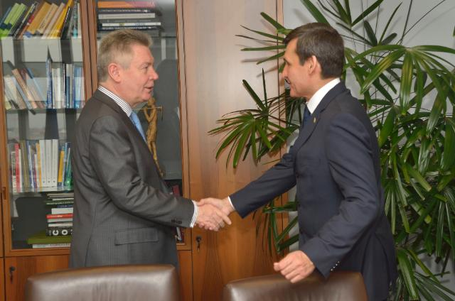 Visit of Rachid Meredov, Turkmen Deputy Prime Minister and Minister for Foreign Affairs, to the EC