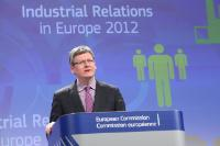 Press conference by László Andor, Member of the EC, following the publication of the report on industrial relations