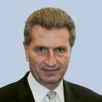 Günther Oettinger, Member of the EC in charge of Energy - Germany